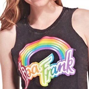 •Lisa Frank•Rainbow Crop Tank•XS
